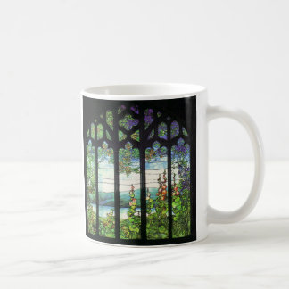Foxglove & Wisteria Stained Glass Mug