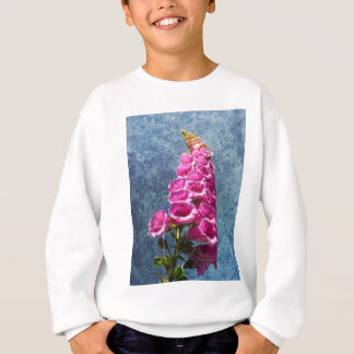 Foxglove with texture reaching for the sky. sweatshirt