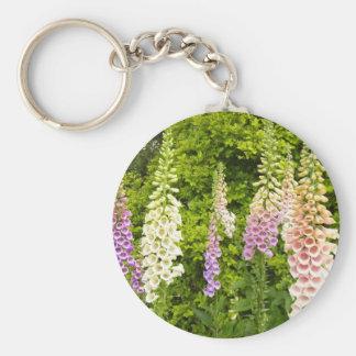 Foxgloves Key Ring
