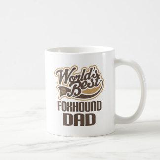Foxhound Dad (Worlds Best) Coffee Mugs