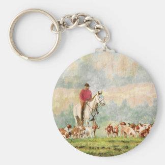 Foxhunt Key Ring
