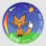 FOXSI 2012 ROUND STICKER