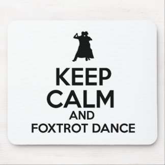 foxtrot dance design mousepad