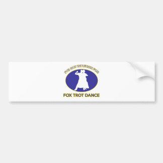 foxtrot design bumper stickers