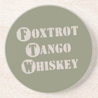 Foxtrot Tango Whiskey Coasters
