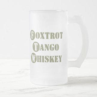 Foxtrot Tango Whiskey Mug