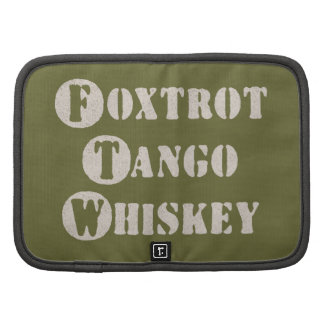 Foxtrot Tango Whiskey Planners