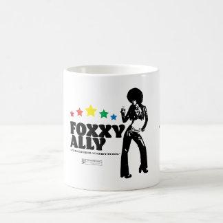 Foxxy Ally (Black Design) Coffee Mug