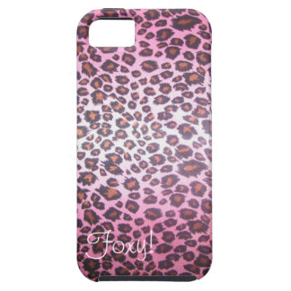 Foxy! Cheetah Print iPhone 5 case