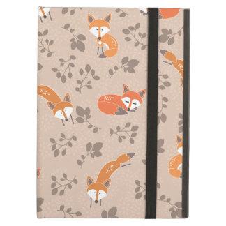 Foxy Floral iPad Case