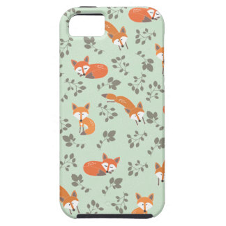 Foxy Floral Pattern iPhone 5 Cases