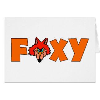 Foxy Fox Greeting Cards