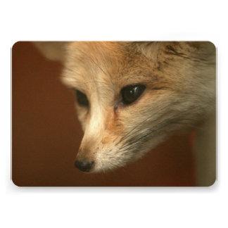 Foxy Fox Invitation