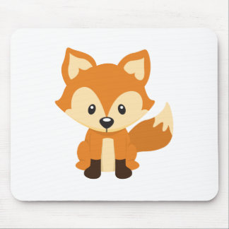 Foxy fox mouse mat
