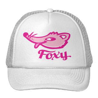 Foxy fox pink logo hat
