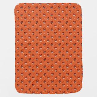 Foxy fox unique design, perfect gift! baby blanket