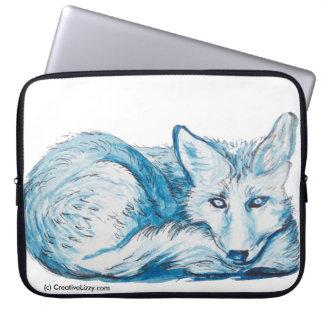 """Foxy Friend - 13"""" Laptop Case"""