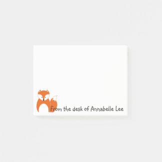 Foxy Friend Too Post-it Notes