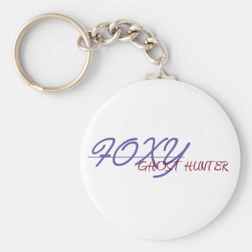 FOXY GHOST HUNTER keychain