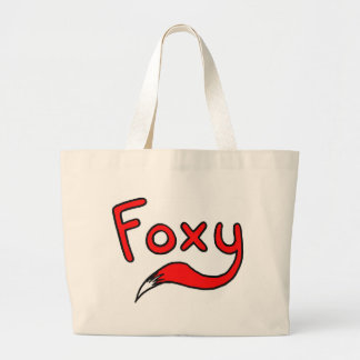 Foxy Jumbo Tote Bag