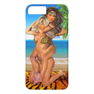 Foxy Jungle Wrestlers iPhone 7 Plus Case