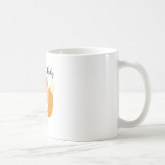 Foxy Lady Basic White Mug