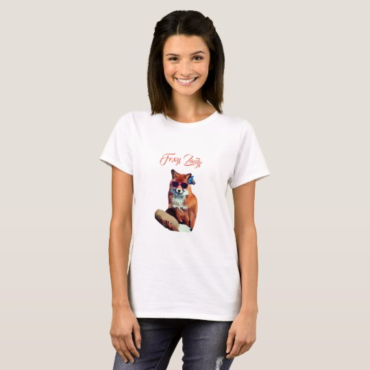 Foxy Lady Cute and Funny T-shirt