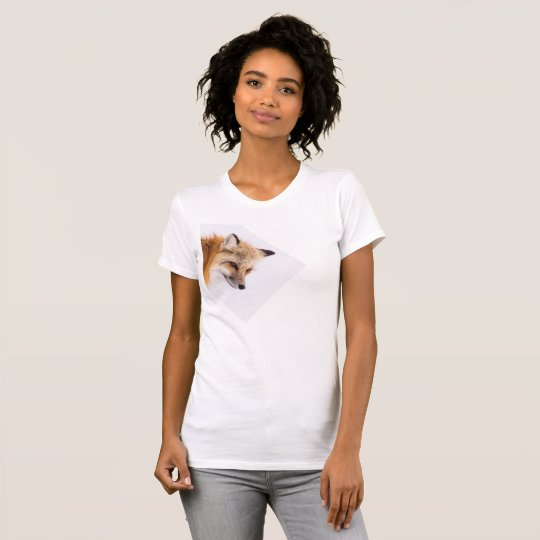 Foxy lady fitted t-shirt