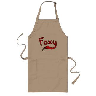 Foxy Long Apron