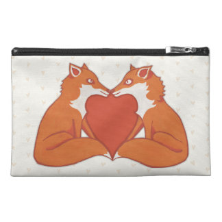 Foxy Love brown Travel Accessory Bag