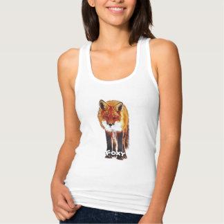 Foxy t-shirt, Foxy tank top, Fox clothing