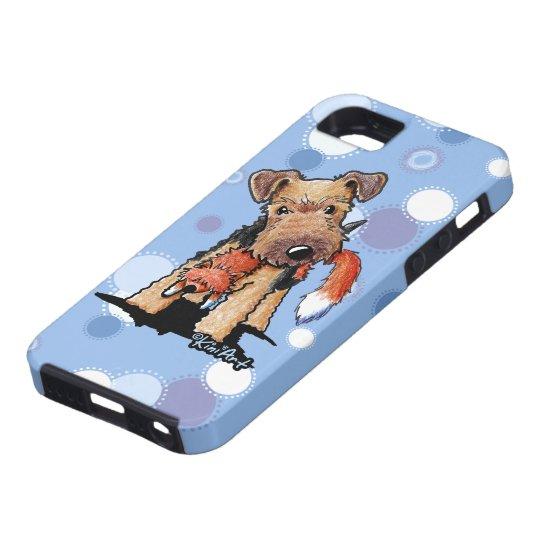 Foxy Welsh Terrier iPhone 5 Case