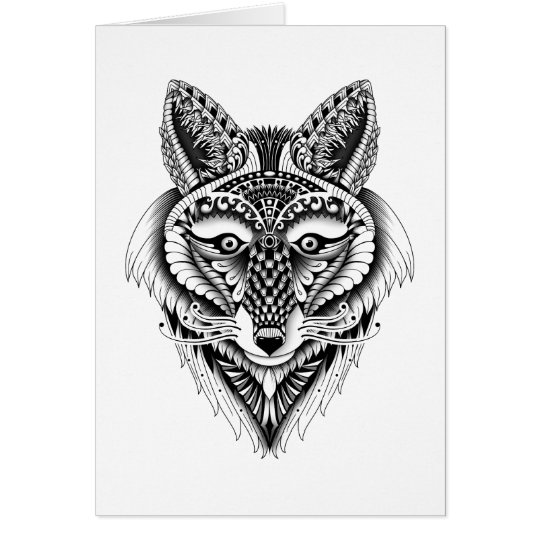 Foxy Wolf Card