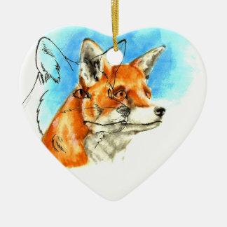 foxyfoxiness christmas ornament