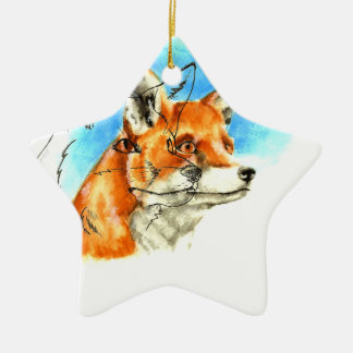 foxyfoxiness christmas ornament