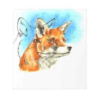 foxyfoxiness notepad
