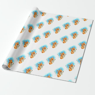 foxyfoxiness wrapping paper