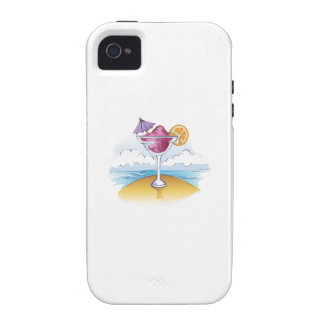FOZEN DRINK ON THE BEACH iPhone 4/4S CASES