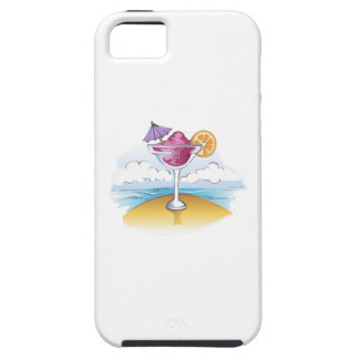 FOZEN DRINK ON THE BEACH iPhone 5 CASE