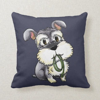 Fozi Schnauzer - Custom Decorative Pillow