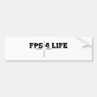 FPS sticker Bumper Sticker