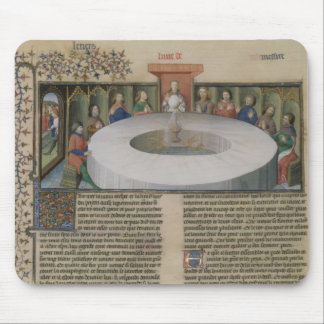 Fr.120 f.524v The Knights of the Round Table from Mouse Mat