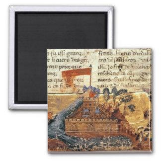 Fr 4972 f.1: Jerusalem in the Crusades Square Magnet