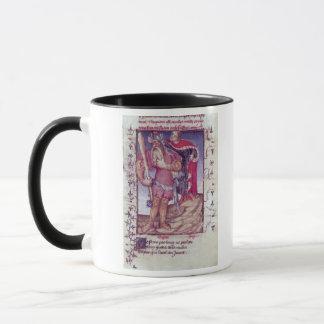 Fr 606 f.11 Ulysses piercing the eye of the Cyclop Mug