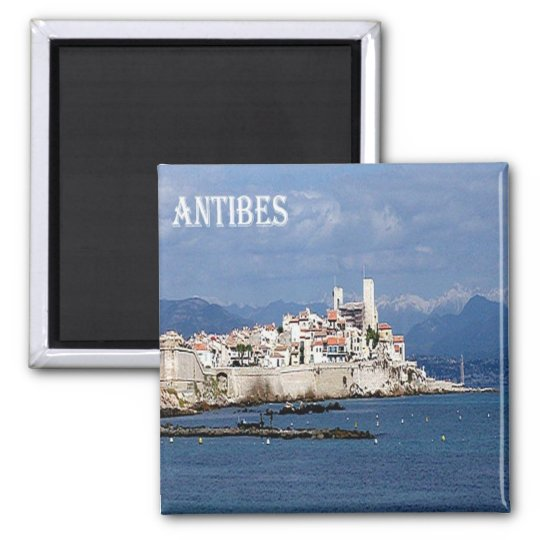 FR - France - French Riviera - Antibes Magnet
