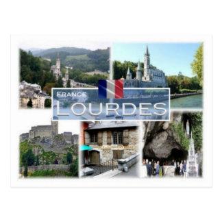 FR France - Lourdes - Postcard