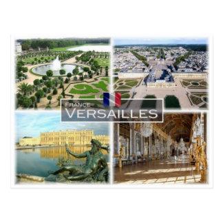 FR France - Versailles - Postcard