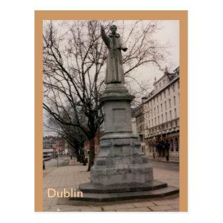 Fr. Theobold Mathew Monument, Dublin, Ireland Postcard