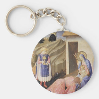 Fra Angelico- Adoration of the Magi Key Chain