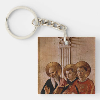 Fra Angelico Art Acrylic Key Chains
